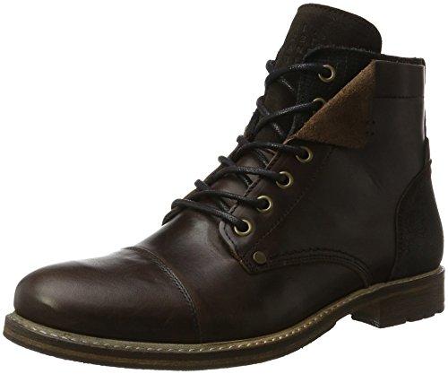 Bullboxer Herren 5807A Biker Boots, Braun (Brown), 43 EU