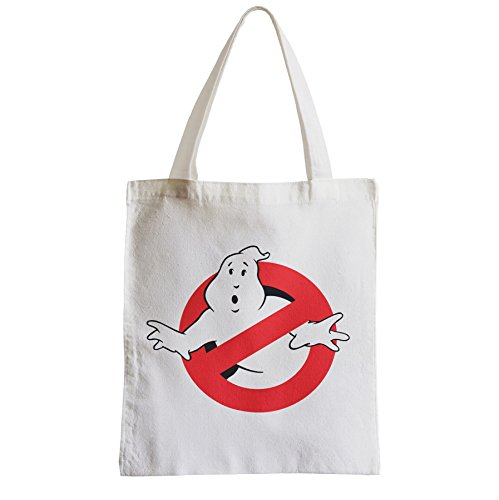 1984 Ghostbusters Movie Logo Cotton Shopping Bag