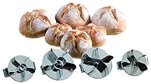Marqueur à pain de campagne professionnel en zig-zag