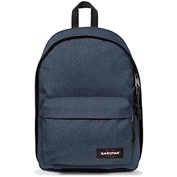 Sac à dos ordinateur Eastpak Back to Work 14 pouces Double Denim bleu