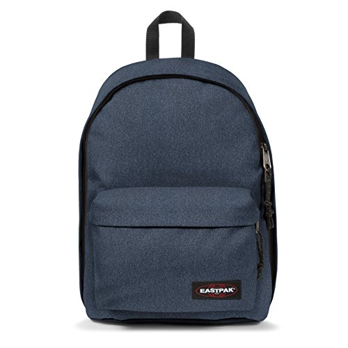 Eastpak Out Of Office, Zaino Casual Unisex - Adulto, Blu (Double Denim), 27 liters, Taglia Unica (44 centimeters)