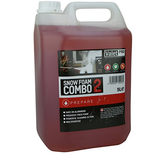 Valet Pro **HEAVY DUTY** Car Wash Snow Foam Combo 5 Litre **USE IN KARCHER LANCE**