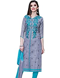 Oomph! Women's Cotton Dress Material