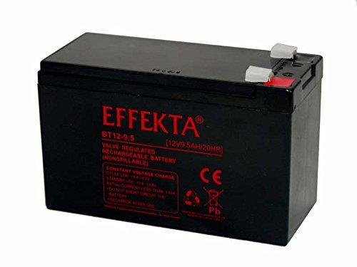 Akku Batterie Effekta BT12-9.5 12V 9,5Ah AGM Blei wie 7Ah 7,2Ah 9Ah