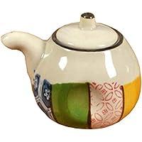 Botella de cerámica Vinagre Pot Dispensador de salsa de soja Liquid Cruet 100ML (estilo japonés