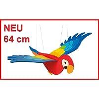 Schwingvogel Mobile mit Möwe 64 x 42cm Schwingtier Dekoration Windspiel