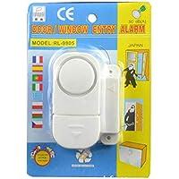 JER Magnética alarma antirrobo inalámbrico para puerta ventana abierta Inicio de alarma de seguridad antirrobo alarma del detector de blancos