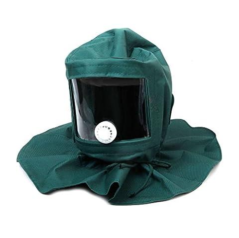 Sandstrahler Sandstrahlhaube Maske Anti Werkzeuge Wind Schutzmaske