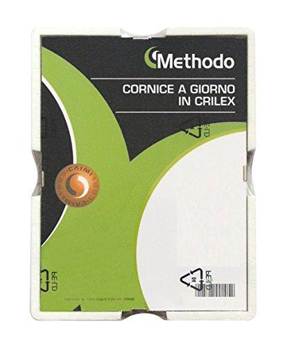 Methodo K900103 Cornice a Giorno in Crilex