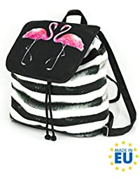 a5ac807035a Shellbag Flammend Pink Flamingo Collection Kordelzug Mode-Tasche Rucksack  Wildlederimitat / flamingo backpack/premium quality…