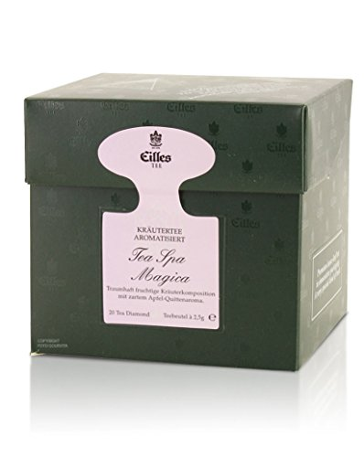 EILLES Tea Diamonds Tea Spa Magica, 20 Pyramidenbeutel -