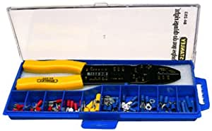 Stanley 84-253-22 Crimping Plier Set (Yellow and Black)