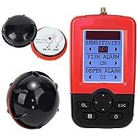 awstroe Buscador de Peces Inalámbrico Portátil Sonda de Sonda Sensor de Sonda Señuelo de Pesca Echo Sounder