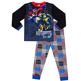 Transformers Optimus Prime and Bumblebee Boys Long Pyjamas (6-7 Years)