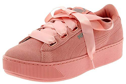 SCARPE PUMA VIKKY Platform Ribbon S 366418 01 Sneaker Fashion Donna Black