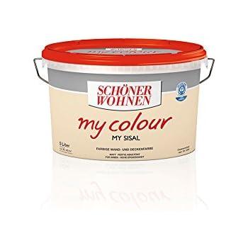 5 L Schöner Wohnen my Color, Wandfarbe, Sisal Matt (2,99EUR/L ...