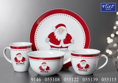 Flirt by R&B Weihnachtsgeschirr Santa Hans Größe Jumbobecher Santa Hans (Flirt Santa)
