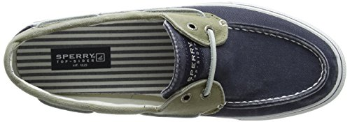 Sperry BAHAMA 2-EYE Herren Sneakers Marine/Khaki