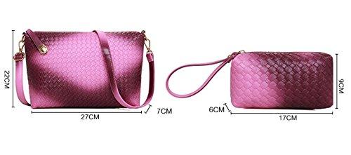 la moda europea e americana pacchetto di immagini diagonale tessere gradiente/borse Liu Jiantao/presa alla spalla/borsetta-B E