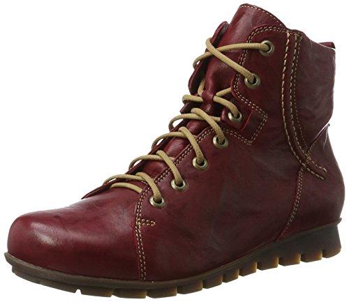 Think! Damen Menscha_181076 Desert Boots, Rot (Rosso/Kombi 72), 38 EU