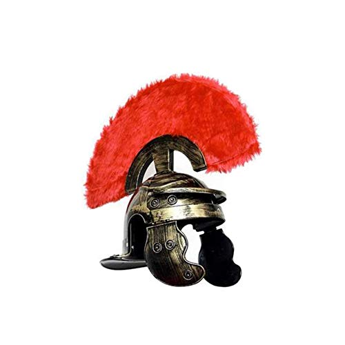 LYY.YY Rom Krieger Helm Ochsenhorn Teufelsmütze Schild Samurai Rittermütze Halloween Gladiator Leistungsstützen Kopfbedeckungen