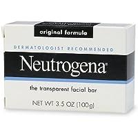 Neutrogena Transparent Facial Bar Soap, Original 3.5 oz (100 g) by scthkidto