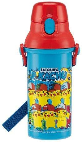 SKATER Pokemon Pikachu Kunststoff One Touch Flasche 480ml Psb5san