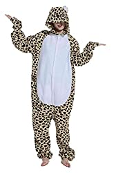 YUWELL Unisex Kigurumi Costume Anime Animal Cosplay Hoodie Onesie Adult Pajamas Cartoon Party Halloween Sleepwear