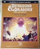 Talons of Night: Standard Module M5 (Dungeons & Dragons) by Paul Jaquays (1987-12-03)