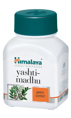 Himalaya Wellness Pure Herbs Yashtimadhu Gastric Wellness - 60 Tablet