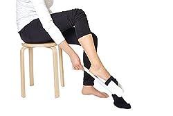 Eurosell Socken Strumpf Anzieher Anziehhilfe für Senioren handicaped People Sockenanzieher Strumpfanziehhilfe