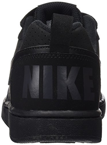 Nike Court Borough Low (Gs), Scarpe da Basket Bambino Nero