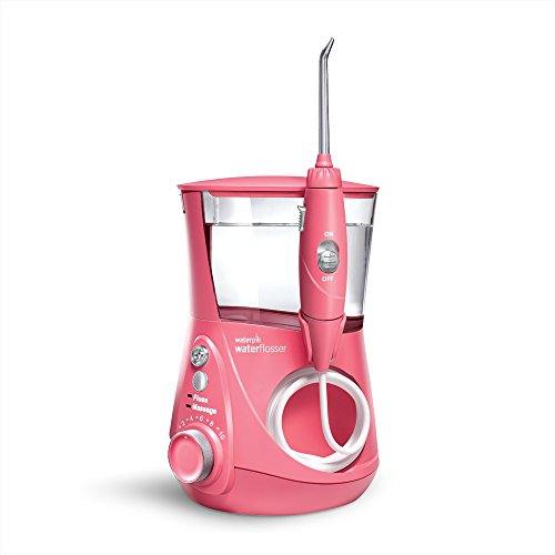 Waterpik WP-674 Aquarius Professional Water Flosser Designer Series, Radiant Pink by Waterpik