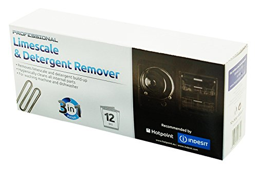 Indesit 12 Pack Limescale & Detergent Remover Test