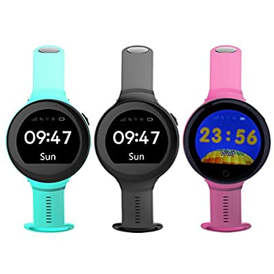 Rrimin ZGPAX S668 Smart Phone Watch GSM Android Kids Monitoring Wristwatch GPS SOS