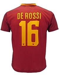 Camiseta De Rossi oficial AS Roma 2018.Réplica autorizada. Daniele De Rossi, número 16