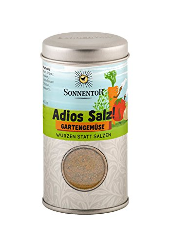 Sonnentor Adios Salz Gartengemüse Mischung bio, Streudose, 2er Pack (2 x 43 g)