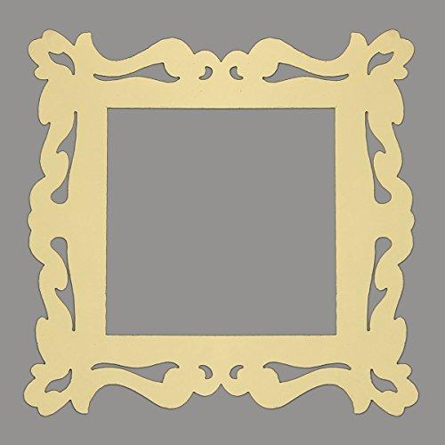 DyNamic 4 stücke Gold Blume reben Lichtschalter Surround Aufkleber Vinyl Wand Haut (Vinyl-wand-aufkleber)