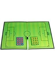 ANDUX Zone magnétique Basket-ball / Football Entraîneur Conseil Plate tactique ZUB-02 (Football tactique)