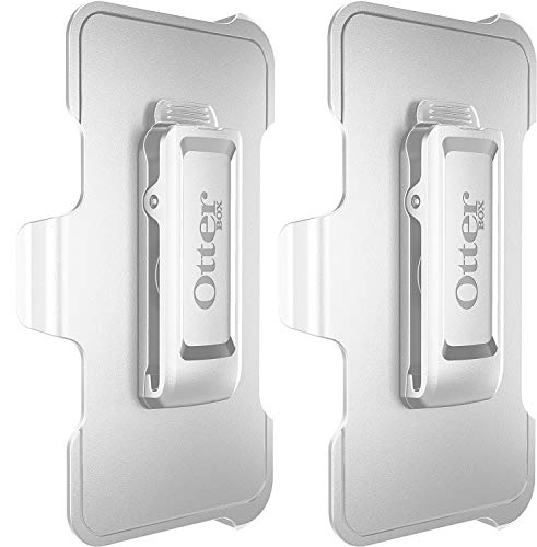 OtterBox Defender Series Gürtelclip Ersatz für Apple iPhone 6 / iPhone 6S / iPhone 7 / iPhone 8 NOT Plus, Weiß, 2 Stück, weiß (Iphone Plus Otterbox 6 Defender)