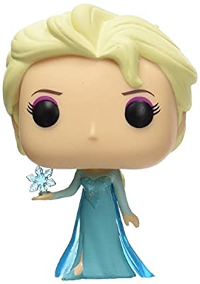 Funko - Bobugt081 - Figurine Animation - Reine De Neige - Frozen - Bobble Head Pop 82 Elsa