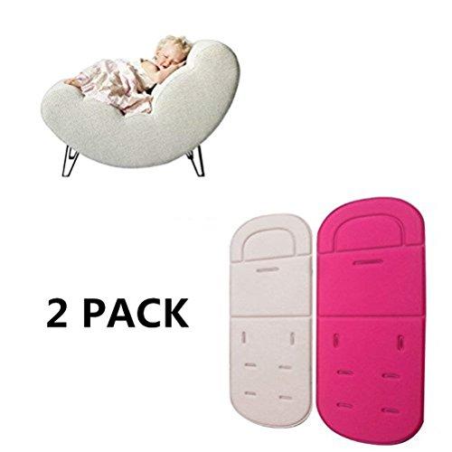 hnjzx Baby Kinder Buggy Kinderwagen Auto Sitz atmungsaktiv Sitz Einlagen für Kinderwagen Sitzkissen Müllbeutel