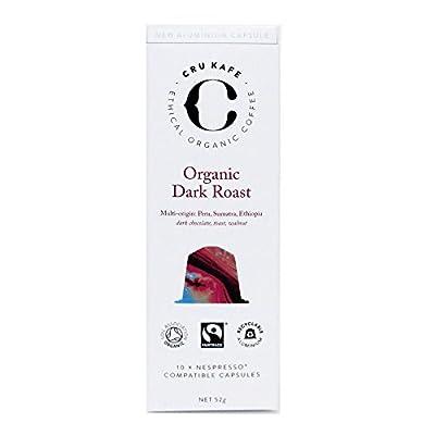 Cru Kafe Organic Nespresso Compatible Coffee Capsules - Intense Roast
