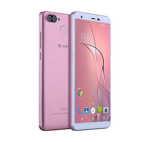 Pure S 5.5'' HD 18:9 Pantalla Completa Cámara Trasera Doble Fingerprint Sensor ROM 16GB RAM 2GB MTK6580A Dual SIM Dual Standby Android 7.0 3000mAh 3g Smartphone y Moviles Libres