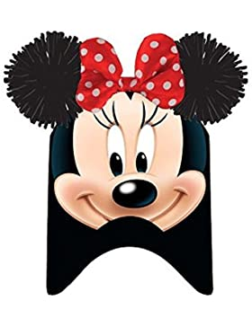 Kids Minnie, Sombrero para Niñas, Negro, One Size (Tamaño del fabricante:TU)