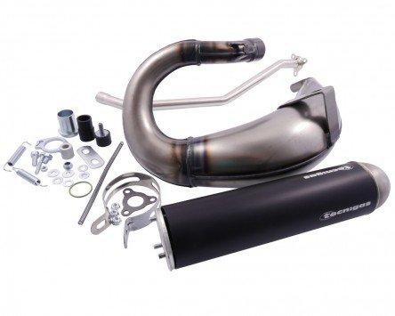 Auspuff Tecnigas E-NOX Steel für Derbi Senda X-Treme