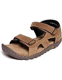 Woodland GD1037111W13 - Khaki Casual Sandals for Men