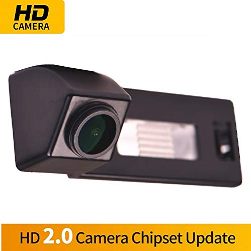 HD Wasserdicht Rückfahrkamera in Kennzeichenleuchte Einparkhilfe Kamera Nachtsicht Einparkkamera für Audi A1 A4 B8 A5 5D S5 TT Roadster Q5 RS Coupe Cabriolet /Skoda Superb Skoda Yeti 2013