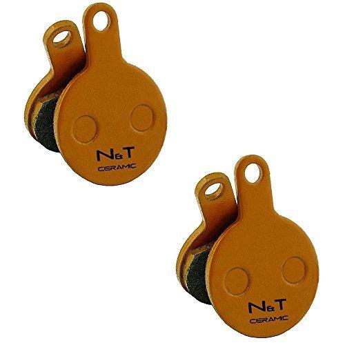 2x Noah and Theo nt-bp014/CR ceramica Freno a disco PASTIGLIE per tektro novela E md-m311. Anche Compatibile con PASTIGLIE MODELLI iox.11