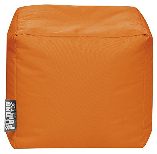 Sitzsack Scuba Cube 40x40x40cm orange (Outdoor)